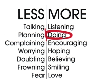 Less More Red